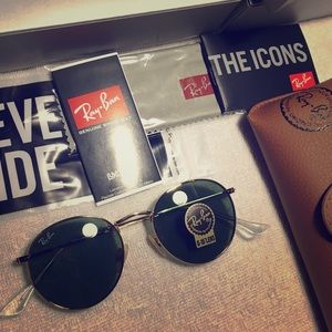 Ray-Ban Classic Round Metal rb3447 001 Sunglasses